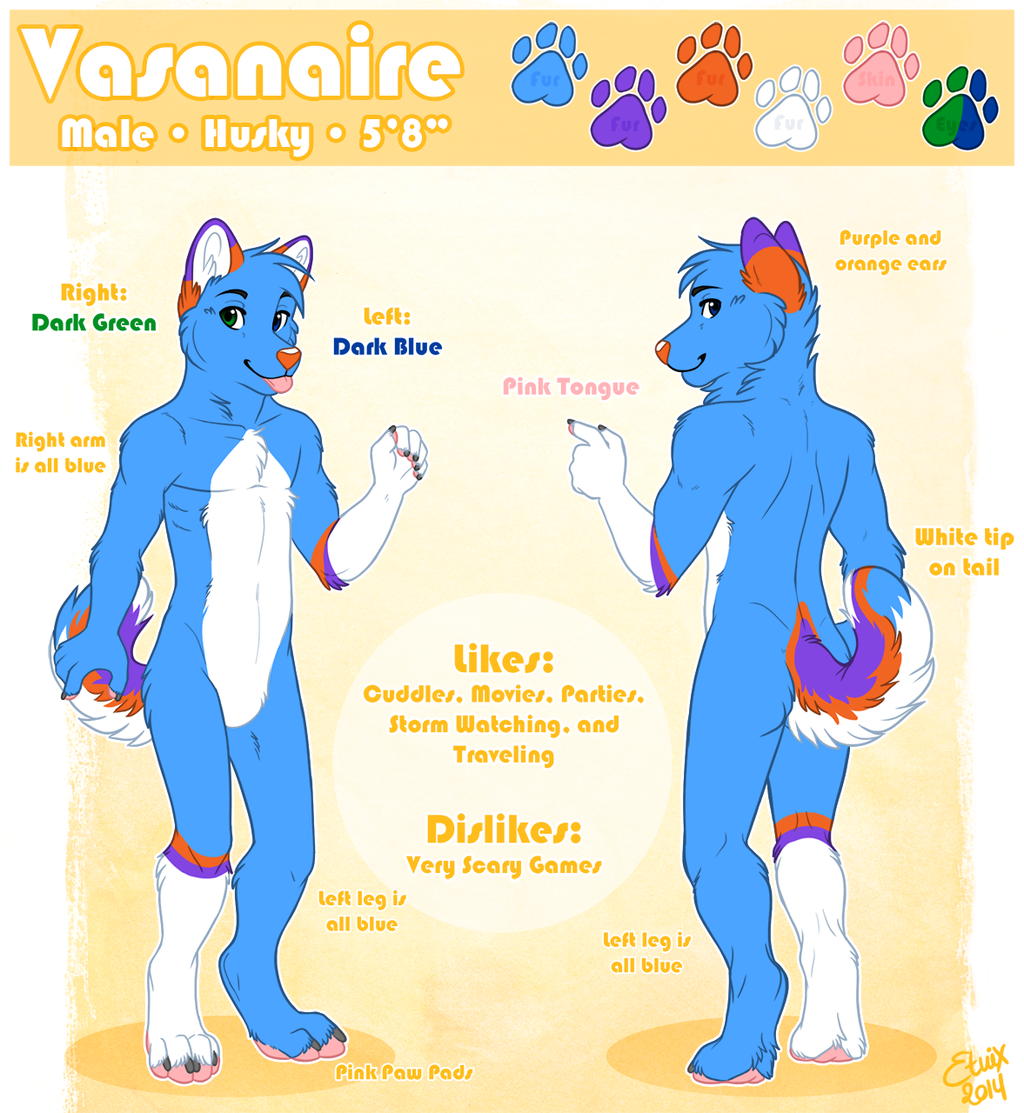 Reference Sheet: Vasanaire