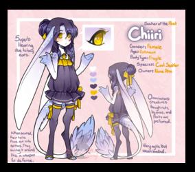 // P // Chiiri Ref Sheet //