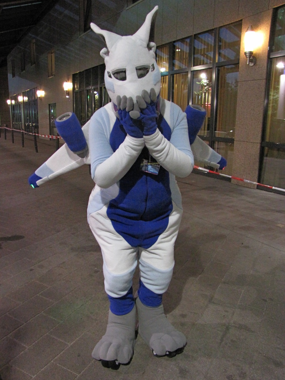 Most recent image: Jazoray Aeromorph Fursuit