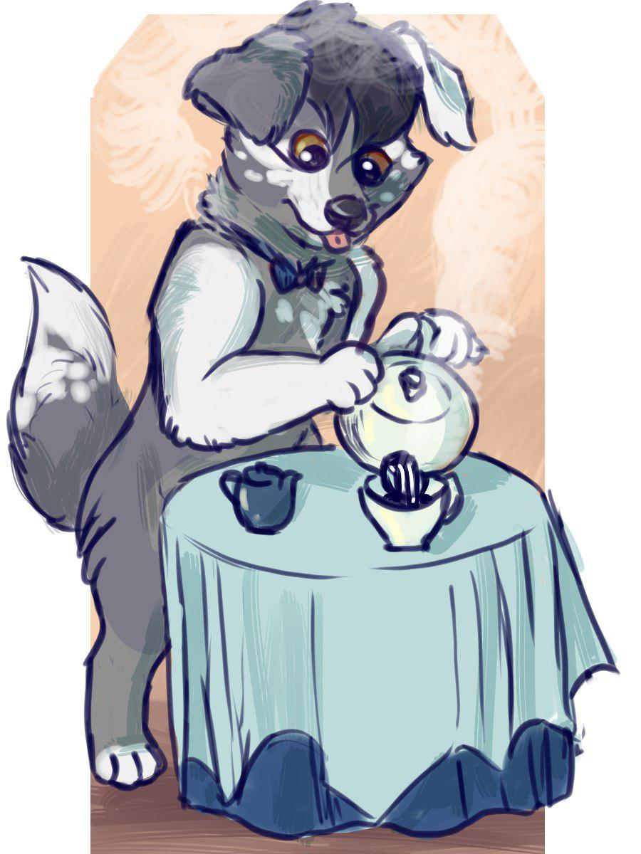 Most recent image: Pepper pouring a nice cup of tea by Mxmouse