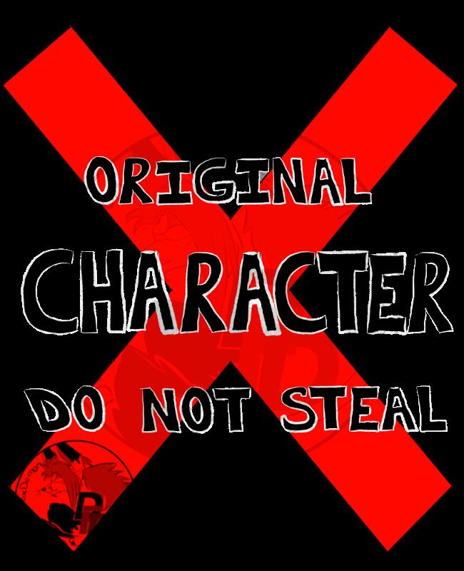Tshirt Original Character 2018