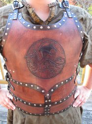 Red Dragon Breastplate