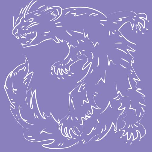 Mustelid sketch