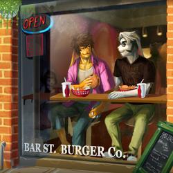 Burgers.