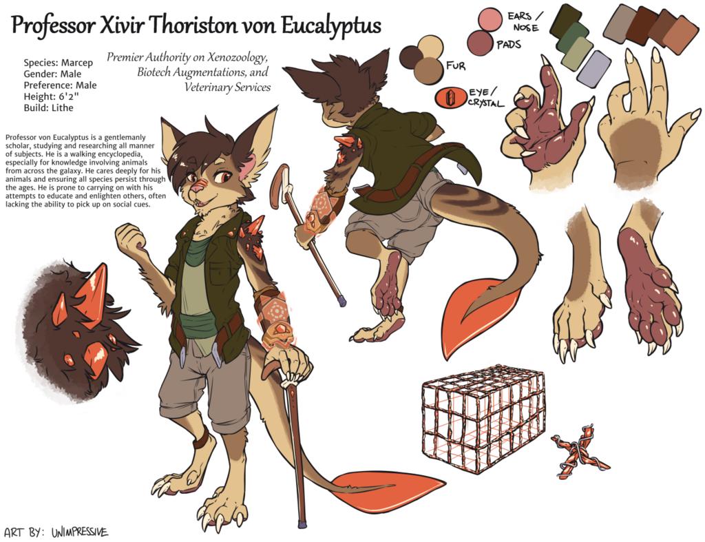 Xivir - Ref Sheet (clothed)