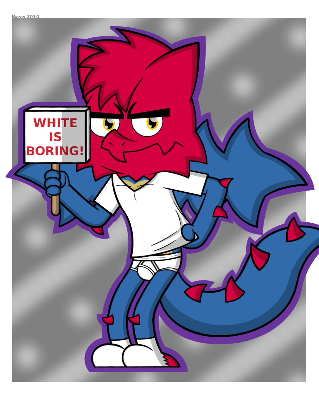 White is Boring