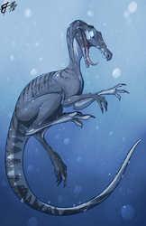 Toony Suchomimus Doodle