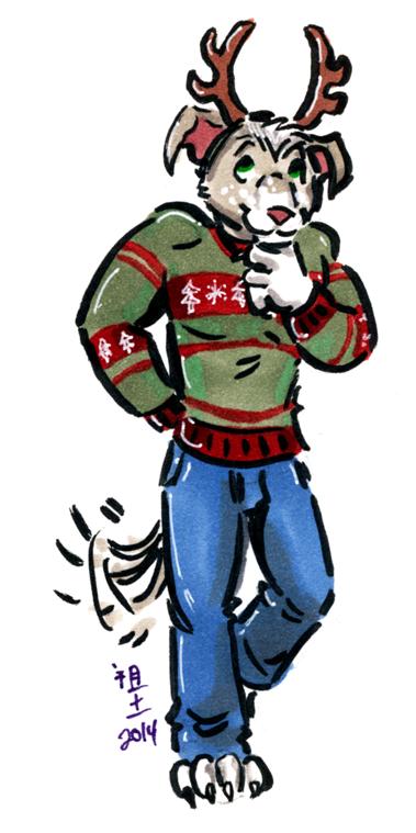 [patreon rewards] holiday pibble