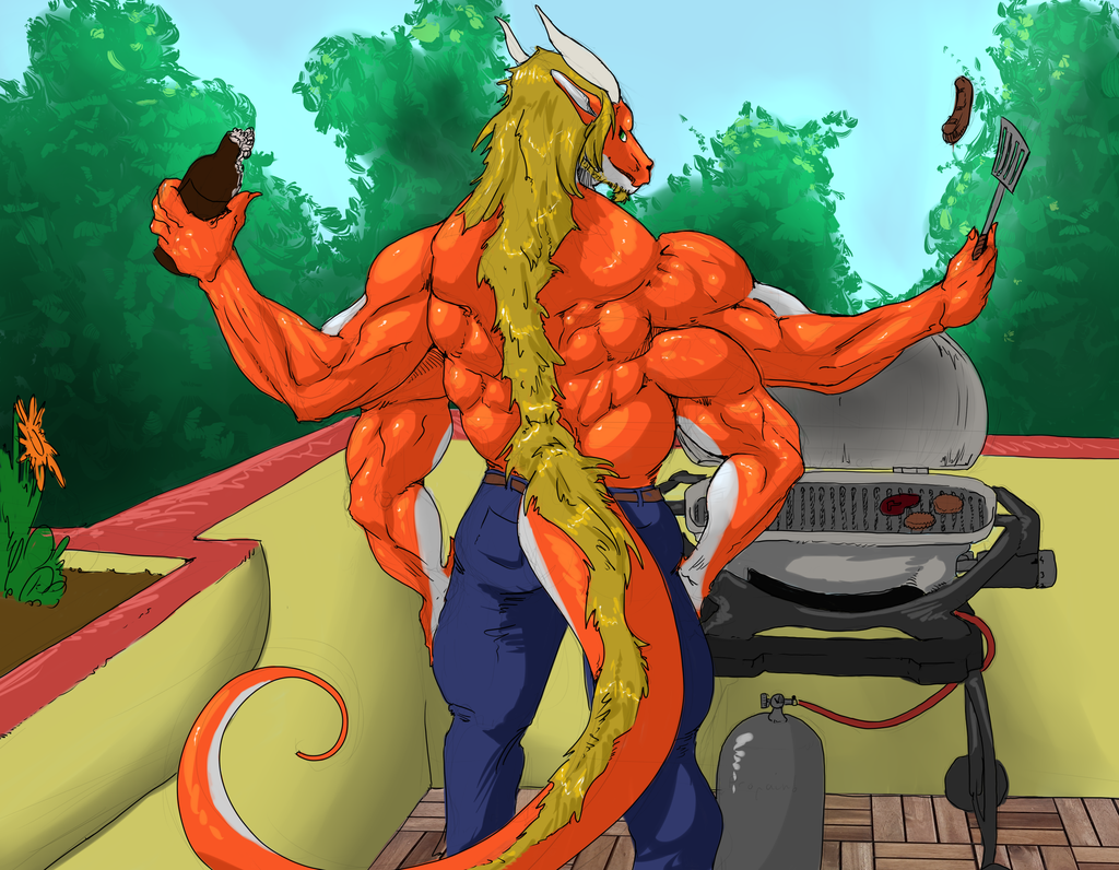 Most recent image: Barbeque time!