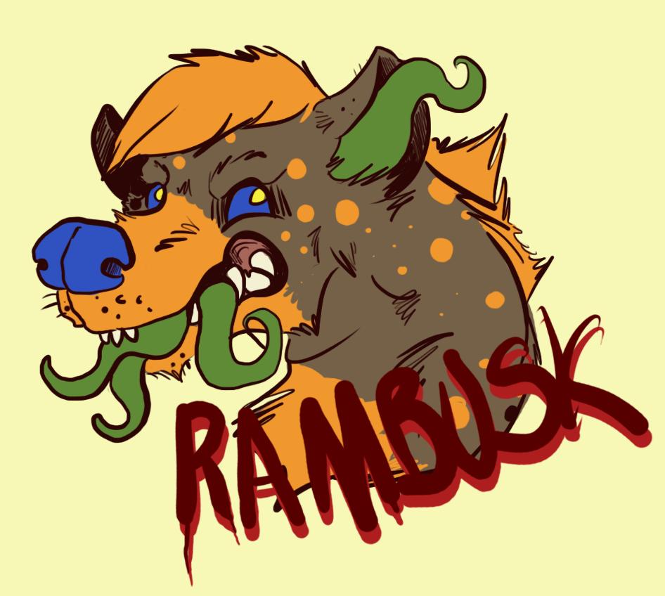 rambusk digital badge