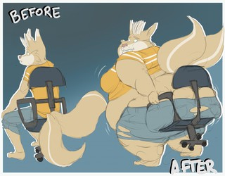 Before And After Commission #7