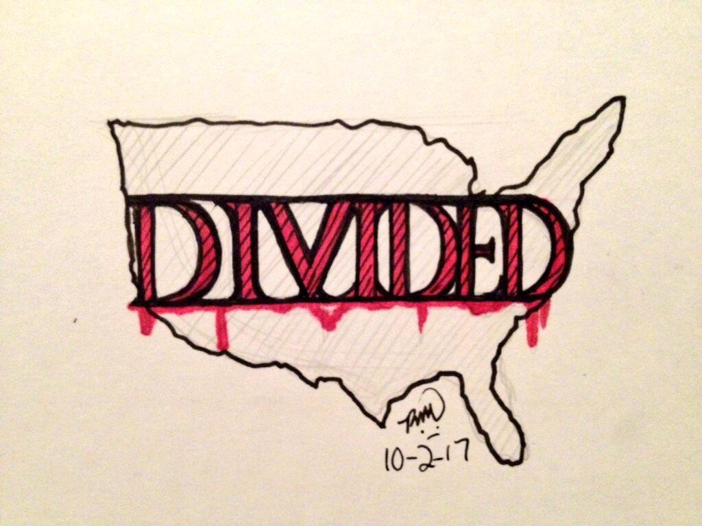 Divided [Inktober Day 2]