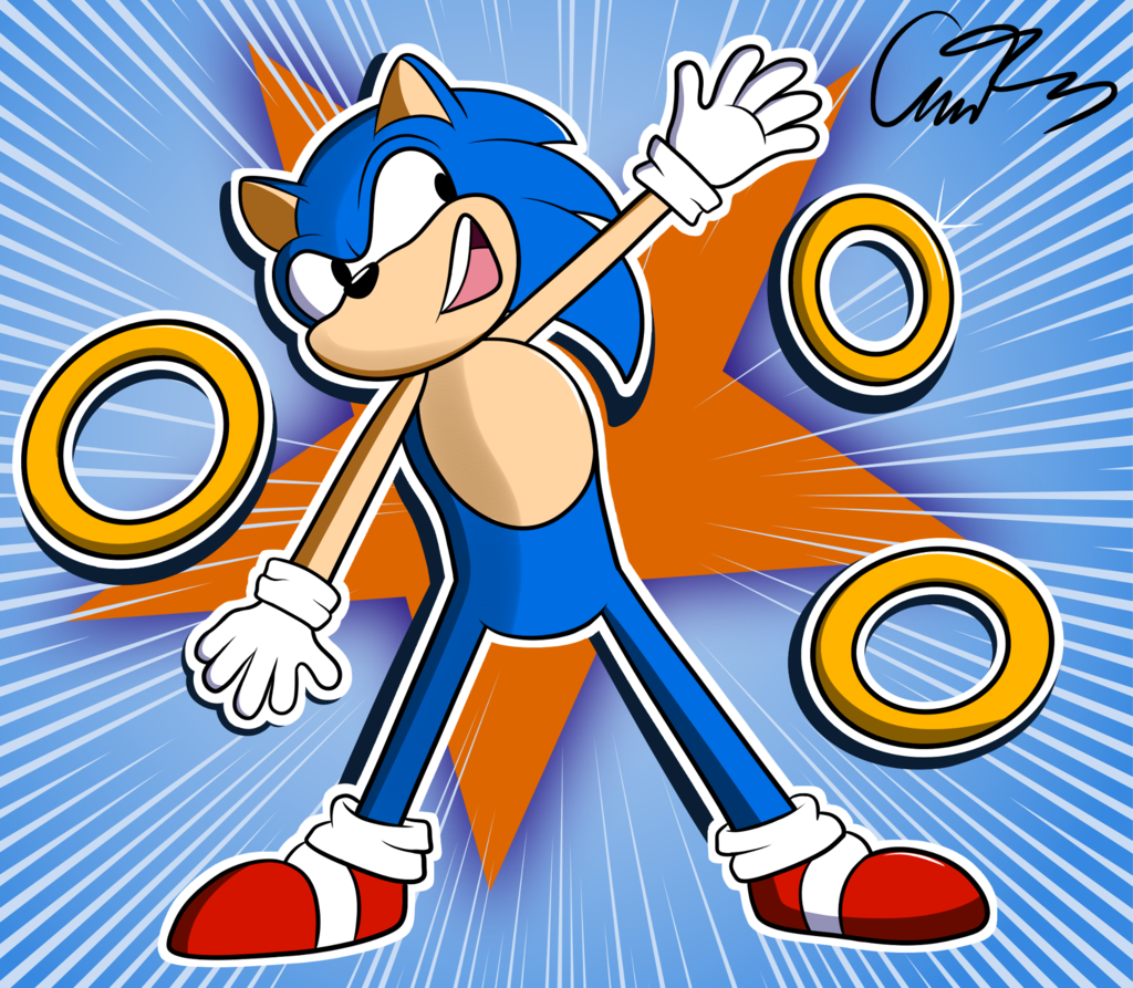 Most recent image: Sonic The Hedgehog