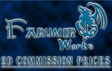 FarumirWorks 2D commission prices sheet