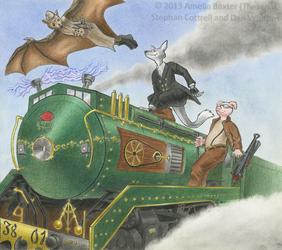 Steampunk 3801 Adventure