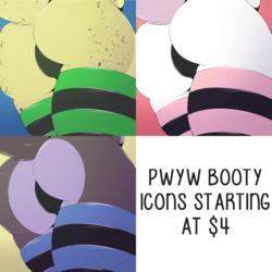 [OPEN] PWYW Rockin' Booties--$4 Minimum!