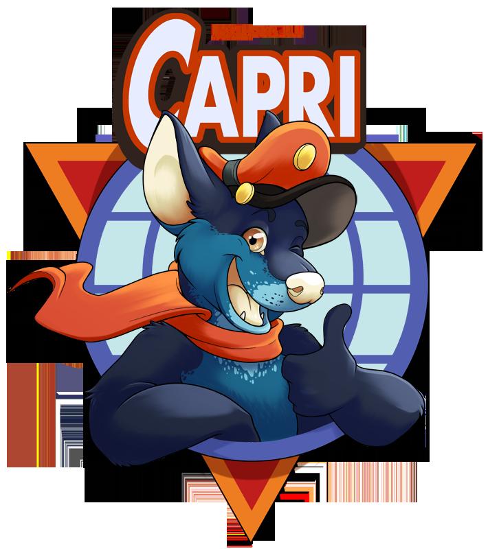 Capri aviators badge
