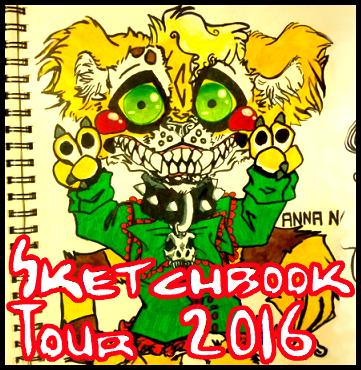 Sketchbook Tour - 2016 (Anna N.) (Video)