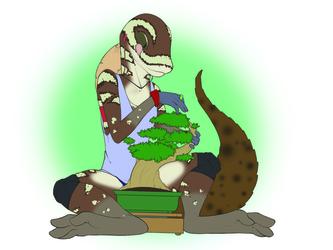 Botanist Gecko