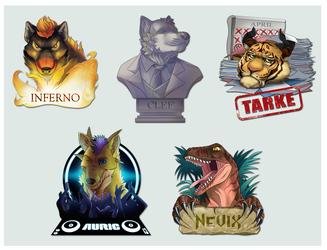 2014 badge dump (part 1)