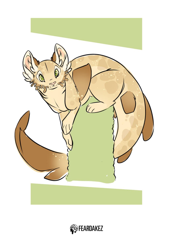 Wobbigong Cat? | FEARDAKEZ