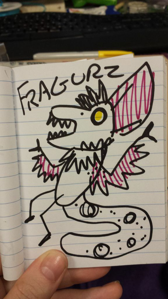 Most recent image: FRAGURZ