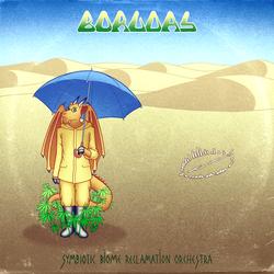 [LP sleeve commission] Symbiotic Biome Reclamation Orchestra - Borudas
