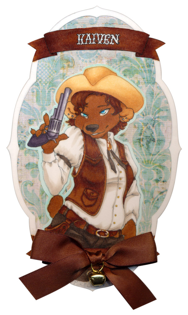 Most recent image: Frilly Badge: Kaiven