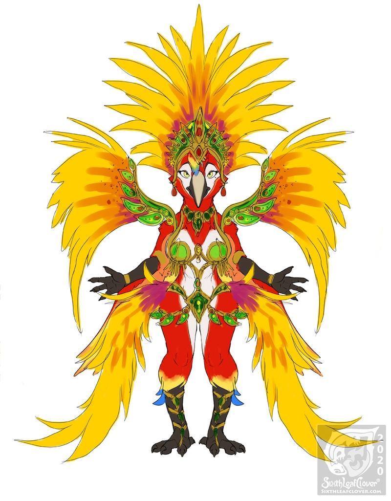 Gloria The Scarlet Macaw