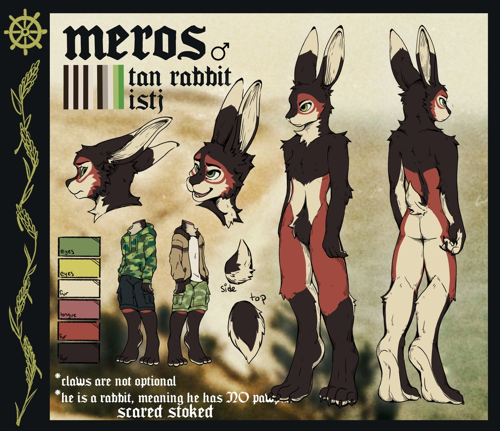 Most recent image: Meros Reference Sheet 2021