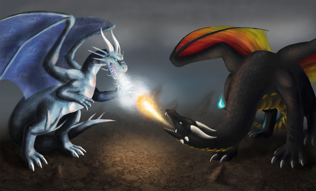Most recent image: Fire vs Ice