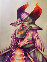 Dragon Knight Portrait