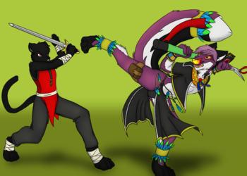 Phantom & Wei-Shu (#2 by LenGrey/Crazy-Husky)