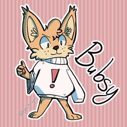 Bubsy Sticker??