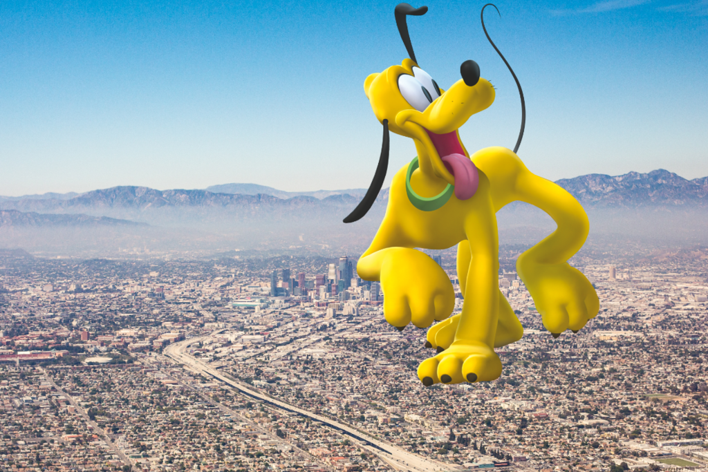 Most recent image: Pluto the kaiju dog