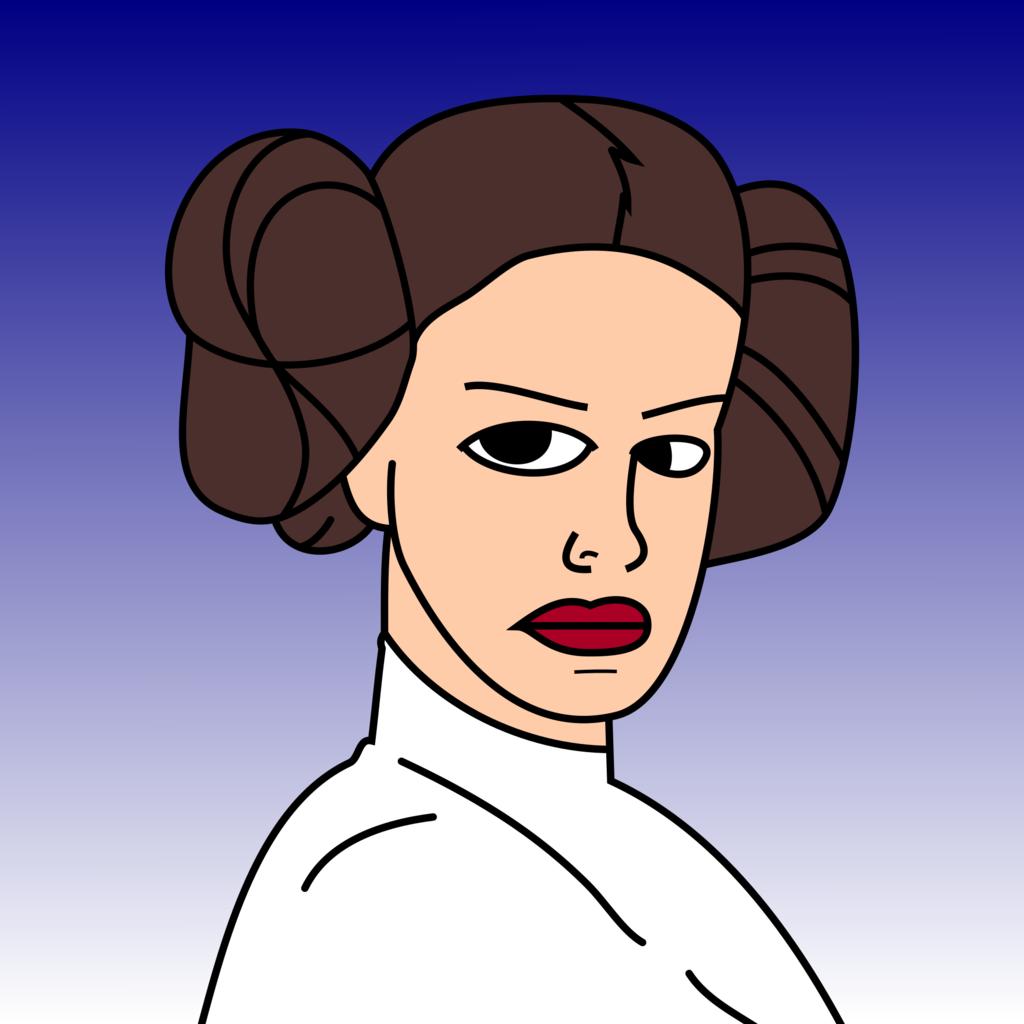 Most recent image: Princess Leia