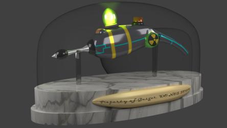 Cookie Gun [3D:2 - 8K Render]