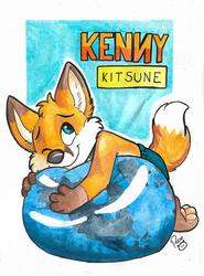 Kenny Kitsune Badge