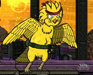 ZAI THE BADASS BIRD