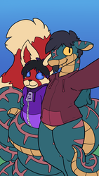 Boyfriend Selfie (1/2) [Art by Geckomania]