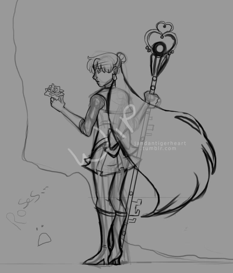 Sailor Pluto WIP