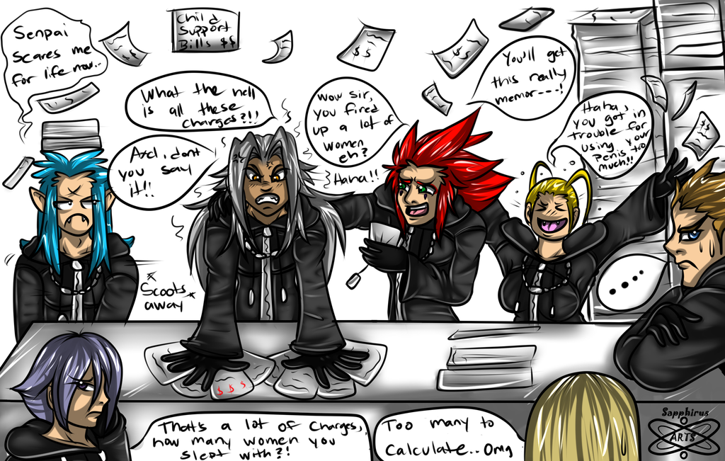 No More late night fun times for Xemnas +KH+