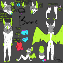 Bonnie ref sheet