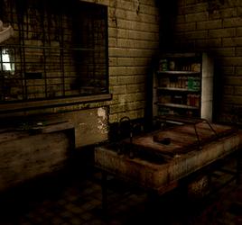 dark asylum morgue