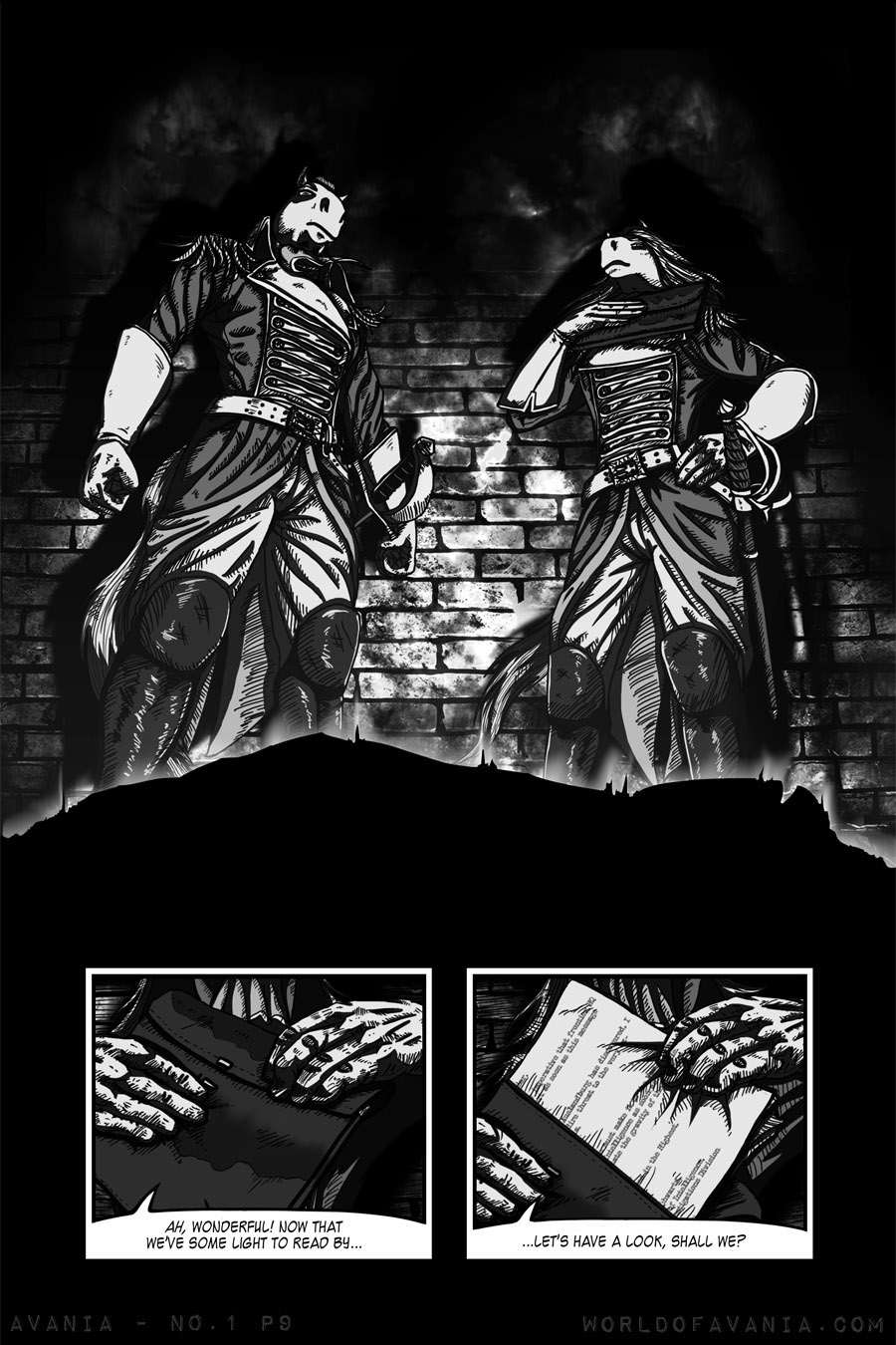 Avania Comic - Issue No.1, Page 9
