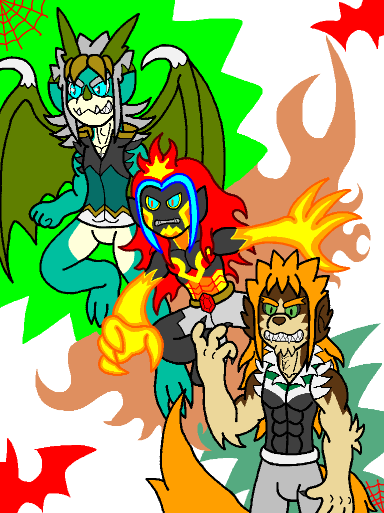 The Monster Trio (Fury Mode)
