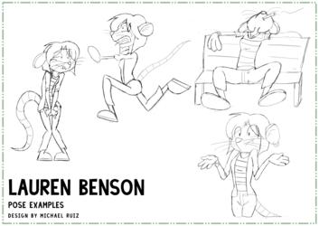 Lauren Benson - Pose Practice