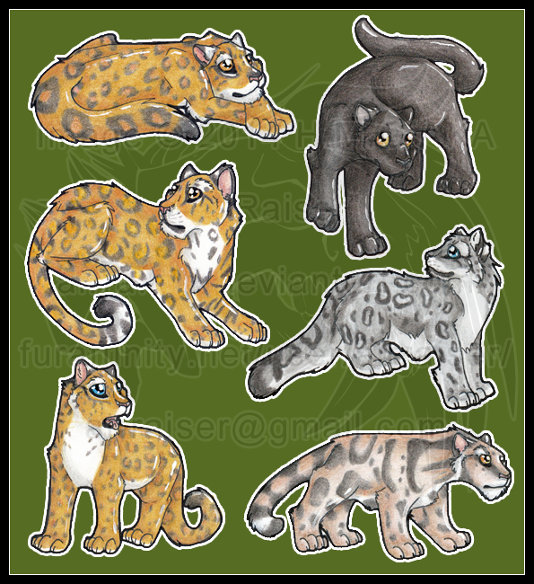 Chibi: Spotted Cats 2014