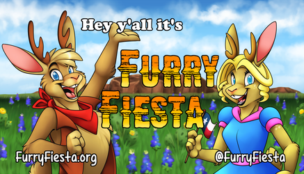 Hey y'all it's Furry Fiesta time!