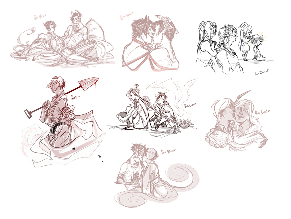 Bunch of cutesy Requests
